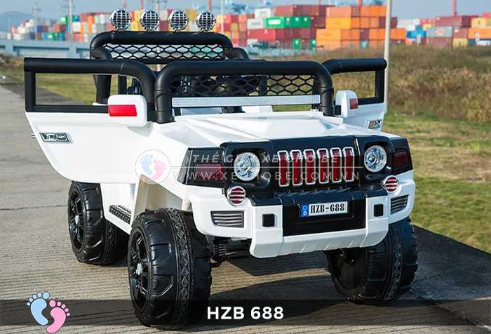 Xe ô tô điện cho bé Jeep HZB-688 11