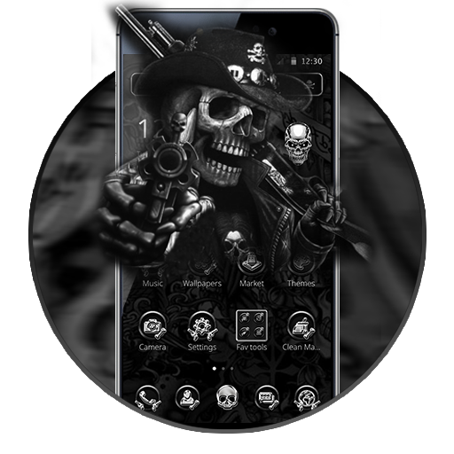 Gangster Skeleton Theme