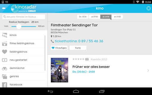 kinoradar - Kino, Filme & mehr 3.2.2 screenshots 21