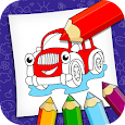 Kids Coloring: Vehicles By Super icon