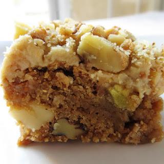 Apple Blondies Bars with Brown Sugar Frosting