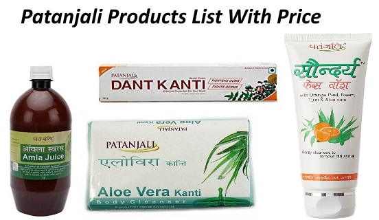 Patanjali Products List With Price 2019 [Updated]