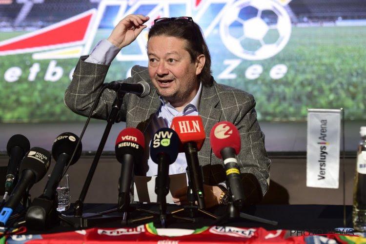 Coucke wordt voorzitter van Anderlecht, maar zal zaterdag de spelers van KV Oostende éxtra belonen bij winst tegen... paars-wit