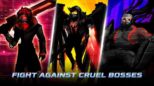 Cyber Fighters: Legends Of Shadow Battle apkpoly screenshots 7