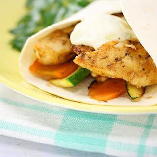 Cajun Chicken Wrap Recipe