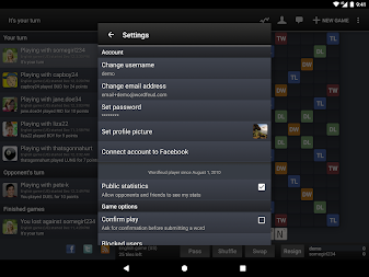 Wordfeud Free APK screenshot thumbnail 14