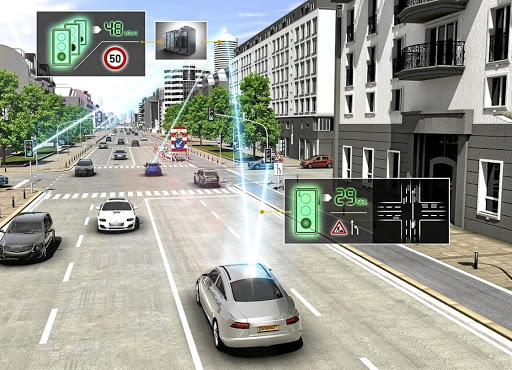 Autonomous vehicles require clear road markings and a high level of infrastructure. Picture: NEWSPRESS UK