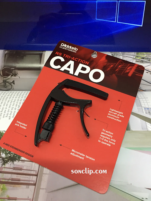 Capo Guitar - Planet Waves NS Tri-Action