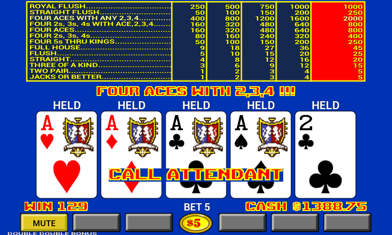 play video poker online free
