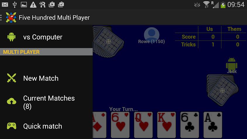 Five Hundred Multi Player Screenshot