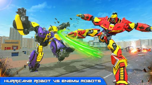 Hurricane Tornado Robot Transforming - Robot Game 1.0.4 screenshots 1