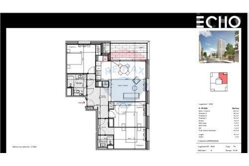 Vente appartement 4 pièces 91 m2
