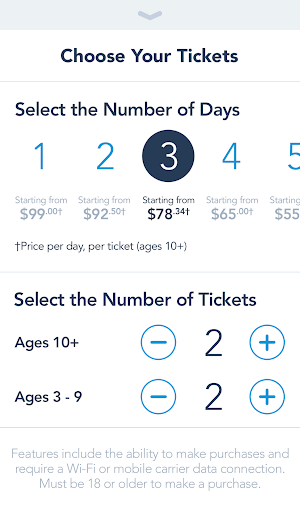3 Disneyland App screenshot