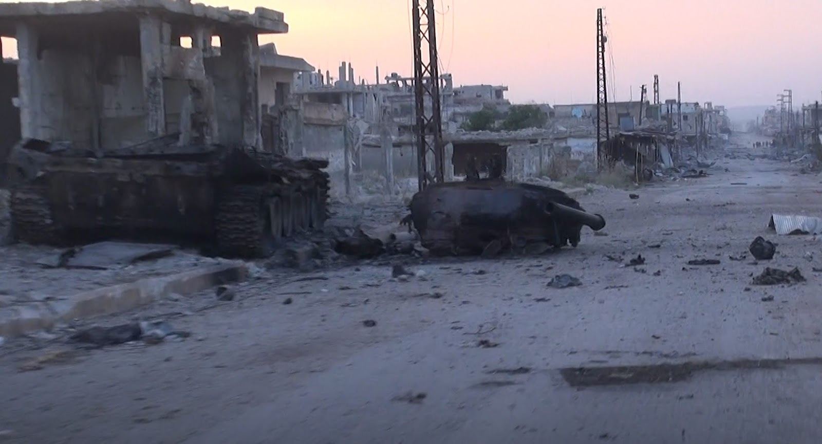 Mysterious Weapon Knocked Out Syrian Army Battle Tank In Southern Idlib