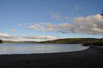 Photo: Blick vom Campground