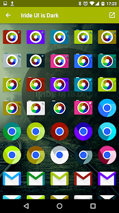 Iride UI is Dark - Icon Pack Screenshot