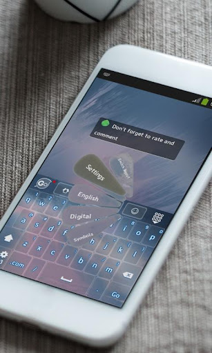 玩免費個人化APP|下載リズミカル雷 GO Keyboard app不用錢|硬是要APP