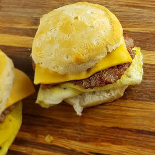 Burger King Sausage Egg and Cheese Biscuit.