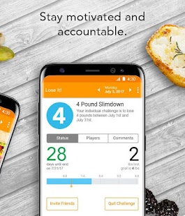 Lose It! - Calorie Counter- screenshot thumbnail