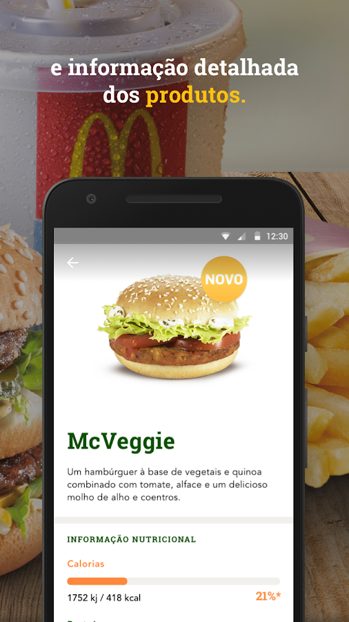 McDonald's Portugal- screenshot