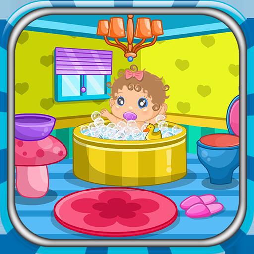 Newborn shower decoration game Icon