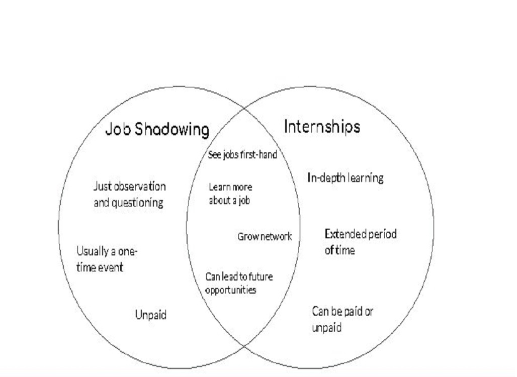 What's The Difference Between Shadowing And An Internship?