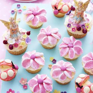 Flower Garden Cupcakes.