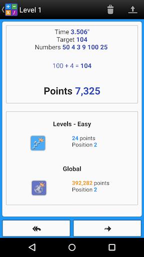 Numbers Game! 6 Countdown Math apktram screenshots 4