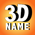 3D My Name Live Wallpaper - 3D Parallax background icon