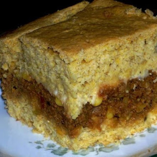 Mother's Day Cornbread Taco Casserole