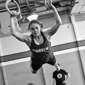Muscle Up by Christopher Mazzoli - Sports & Fitness Other Sports ( wod, girl, throwdown, female, woman, bw, box, gym, crossfit, workout )