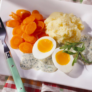 """Eier in """"Grüner Sauce"""""""