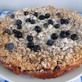Blueberry Brunch Cheesecake