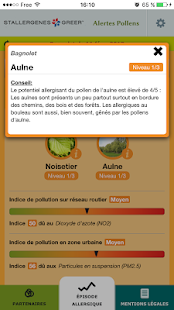 Alertes Pollens- screenshot thumbnail