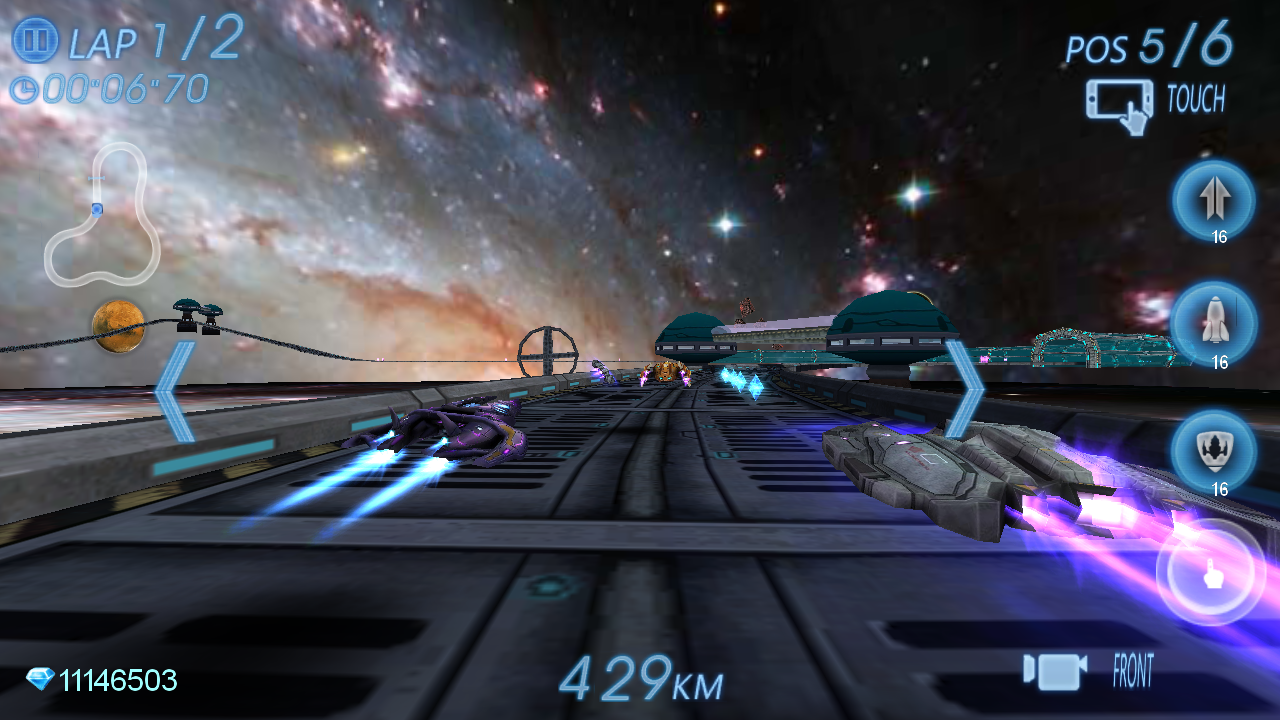 Space Racing 3D - Star Race- screenshot