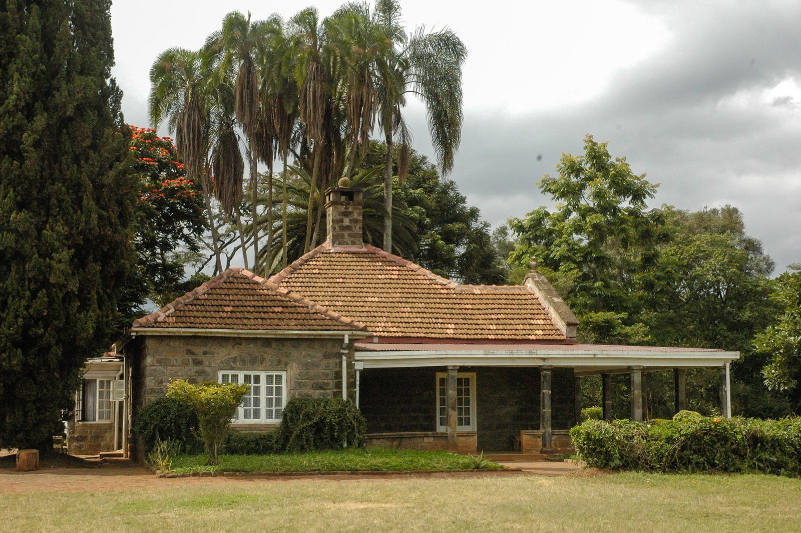 Museu Karen Blixen em Nairobi - a antiga casa do escritor