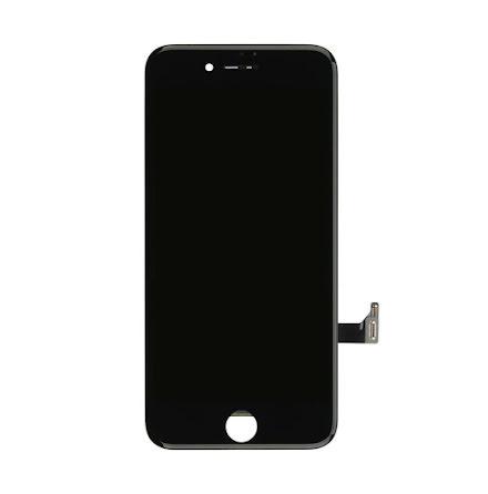 iPhone 8 LCD-skärm (AOU-tillverkad)  SVART