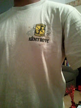 Photo: Kamau in his Vandy ROTC shirt!