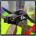 Flying Police Car Police Chase icon
