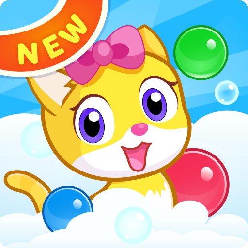 Meow Pop: Kitty Bubble Puzzle & Cats Blast