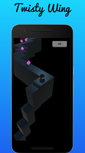Twisty Wing: Endless Fast Track Colors Shapes Game - náhled
