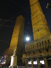 Photo: The two main towers of Bologna, Garisenda and Asinelli