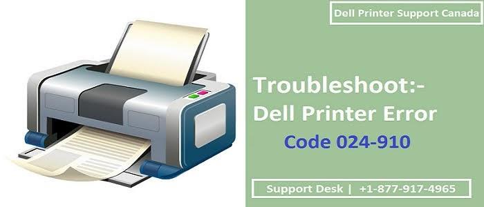 Fix Dell Printer Error Code 024-910
