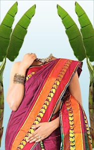 Wedding Saree Photo Suit screenshot 10