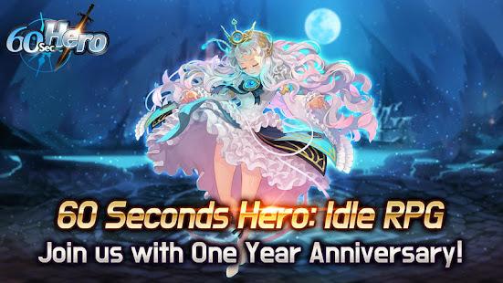 60 Seconds Hero: Idle RPG 1.66.1 APK + Modificación (Unlimited money) para Android