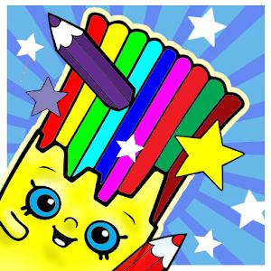 Kid Coloring Shopkin Games APK seneste version 1 0 gratis brætspil til Android
