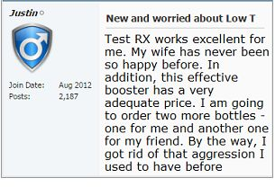 test RX user feedback