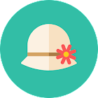 Girls Hats Stickers icon