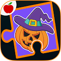 Kids Halloween Game Puzzles icon