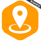GPS Tracking employees icon